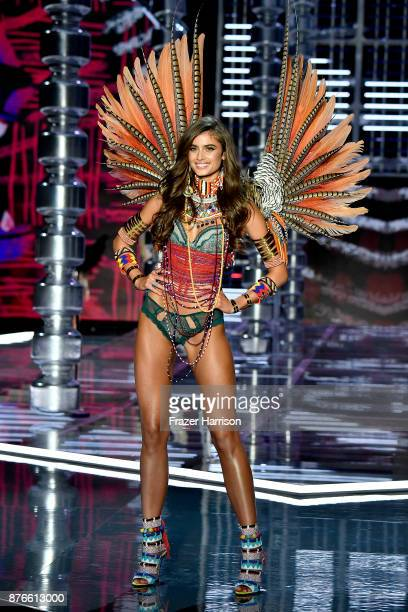 Victoria's Secret Angel Taylor Hill walks the runway during the 2017 Victoria's Secret Fashion Show In Shanghai at MercedesBenz Arena on November 20...