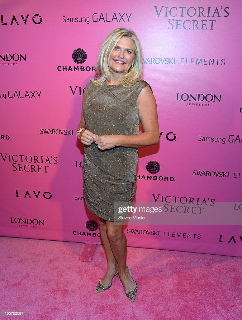 Victoria's Secret CEO Sharen Jester Turney attends Samsung Galaxy features arrivals at the official Victoria's Secret fashion show after party on...