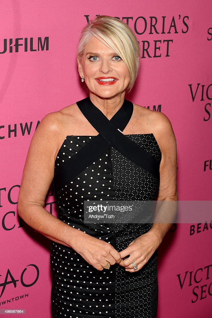 Victoria's Secret CEO Sharen Jester Turney attends the 2015 Victoria's Secret Fashion Show after party on November 10 2015 in New York City