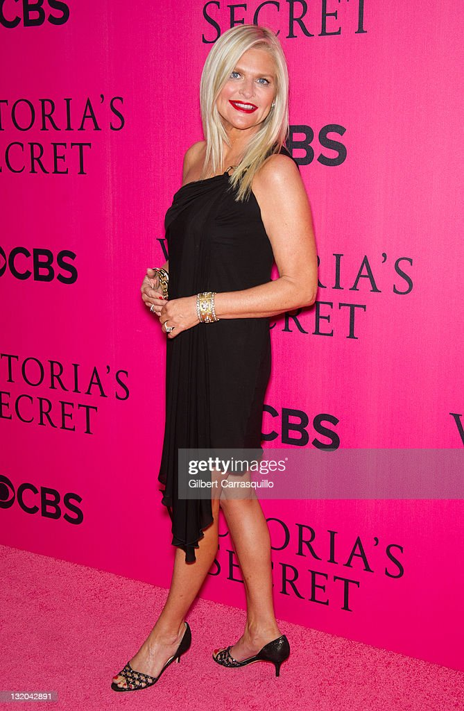 Victoria's Secret CEO Sharen Turney attends the 2011 Victoria's Secret Fashion Show at the Lexington Avenue Armory on November 9 2011 in New York City