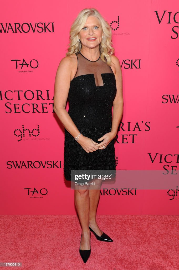 Victoria's Secret CEO Sharen Turney attends the 2013 Victoria's Secret Fashion Show at Lexington Avenue Armory on November 13 2013 in New York City
