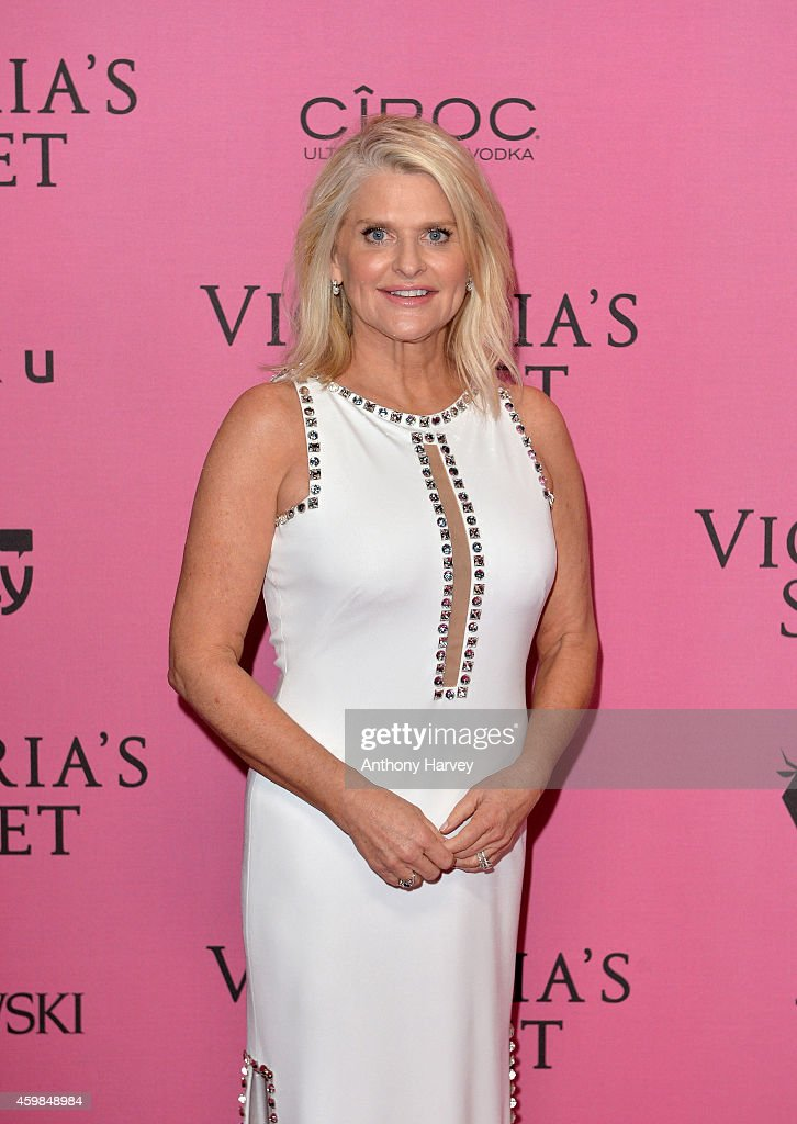 Victoria's Secret CEO Sharen Turney attends the pink carpet of the 2014 Victoria's Secret Fashion Show on December 2 2014 in London England