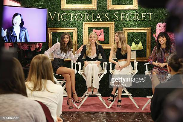 Victoria's Secret EVP Brand Communications Events Monica Mitro moderates Victoria's Secret Angels Taylor Hill Elsa Hosk and Martha Hunt to host...