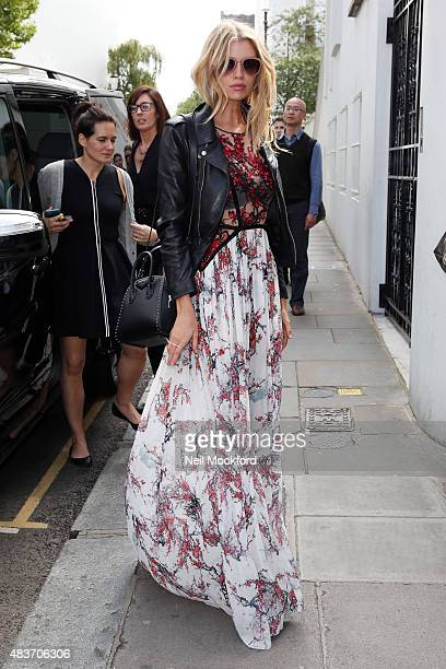 Victoria's Secret model Stella Maxwell seen in Notting Hill on August 12 2015 in London England