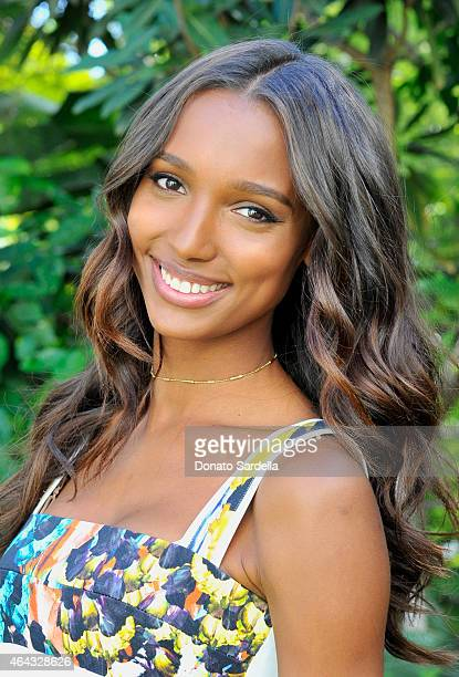 Victoria's Secret Supermodel Jasmine Tookes celebrate The Sexiest Push Ups and the Victoria's Secret Swim Special at Sunset Marquis Hotel Villas in...