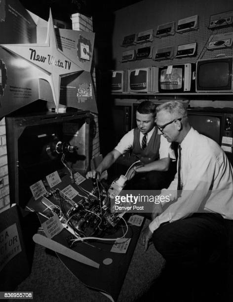 Victor's 'New Vista' TV' The 1962 line of RCA Victor television stereo and radio sets and the new RCA Whirlpool washers and dryers were unveiled for...