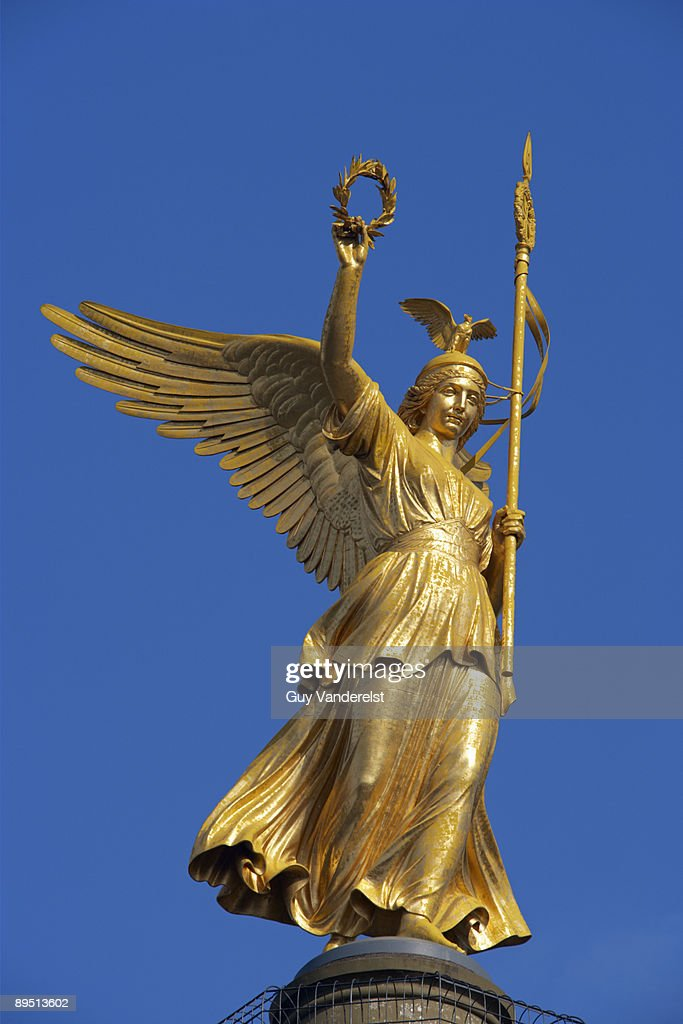 Victory goddess on Victory Column in Berlin