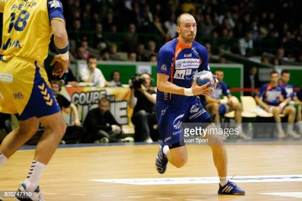 Vid KAVTICNIK Montpellier / Saint Raphael Finale de la Coupe de la Ligue 2009/2010 Palais des sports de Beaulieu Nantes