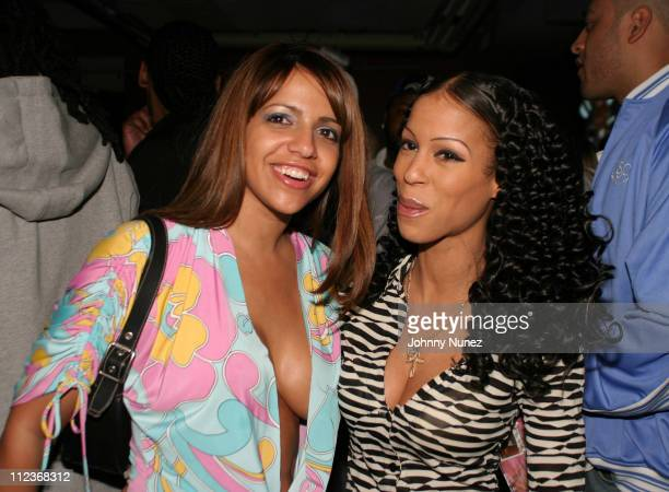 Vida Guerra and Heather Hunter during 'Soul Plane' New York Premiere After Party at Plaid Nightclub in New York City New York United States