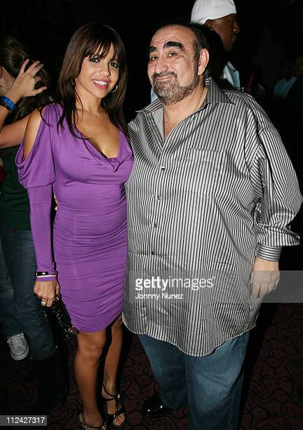 Vida Guerra and Ken Davitian during XM Satellite Radio Salutes Ludacris at Post Grammy Party Hosted by Queen Latifah Inside at Social in Hollywood...