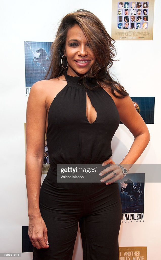 Vida Guerra arrives at the Screening Of 'Not Another Celebrity Movie' at Pacific Design Center on January 17, 2013 in West Hollywood, California.