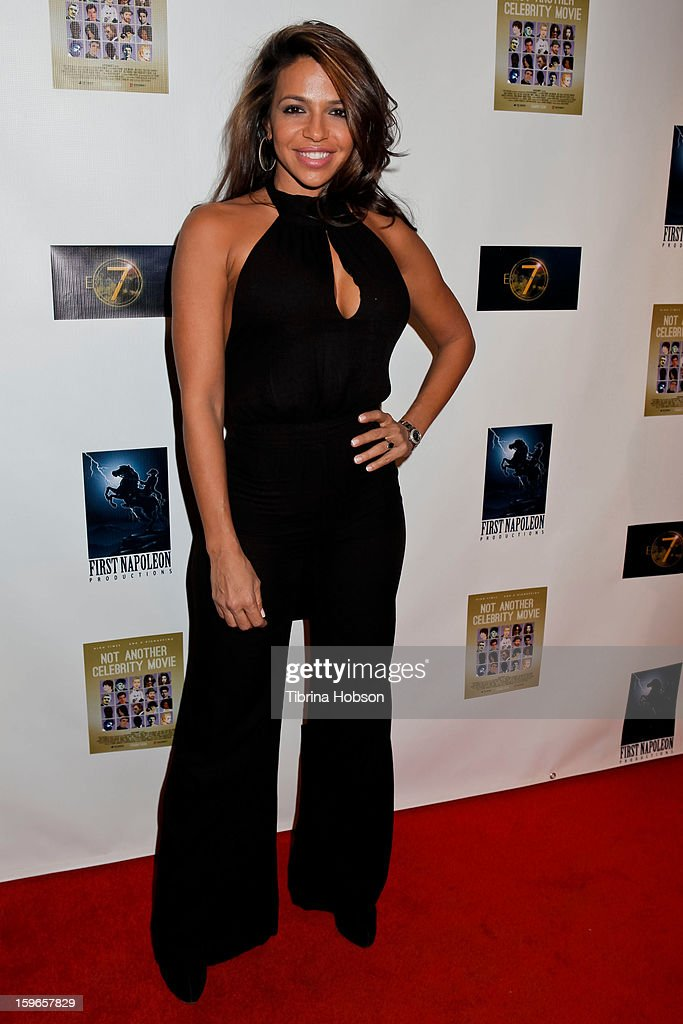 Vida Guerra attends the 'Not Another Celebrity Movie' Los Angeles premiere at Pacific Design Center on January 17, 2013 in West Hollywood, California.