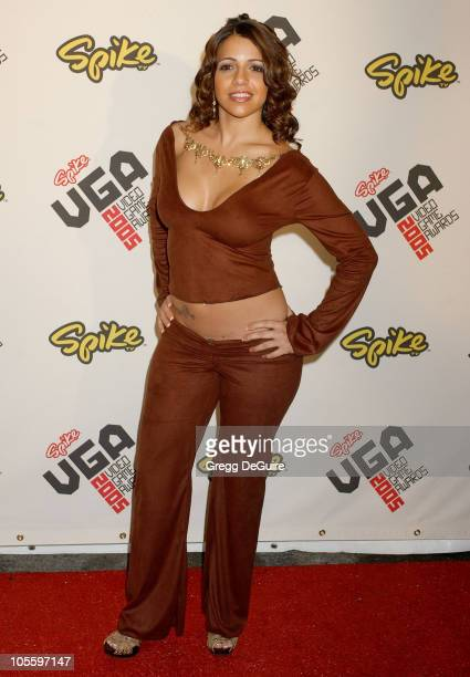 Vida Guerra during 2005 Spike TV Video Game Awards Arrivals at Gibson Amphitheater in Universal City California United States