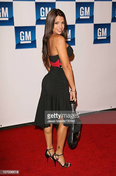Vida Guerra during General Motors Presents 3rd Annual GM AllCar Showdown Hosted by Shaquille O'Neal Arrivals at Paramount Studios in Hollywood...