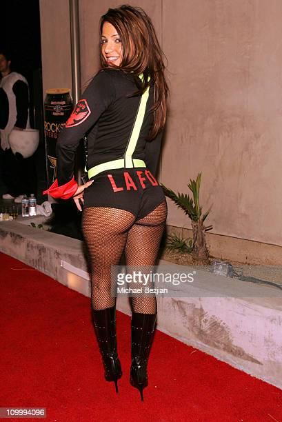 Vida Guerra during Halloween Mansion Party Hosted by Haylie Duff October 31 2005 at Private Residence in Los Angeles California United States