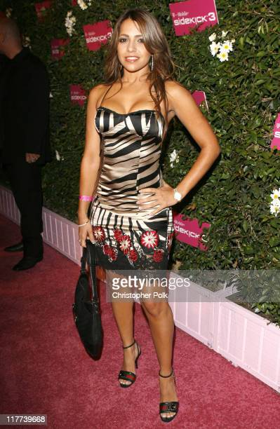 Vida Guerra during TMobile Sidekick 3 Launch Red Carpet at 6215 Sunset Blvd in Los Angeles California United States