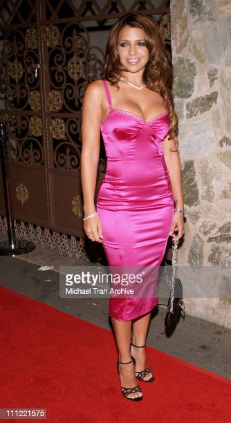 Vida Guerra during Vida Guerra Playboy Cover Party Arrivals at The Day After Nightclub in Hollywood California United States