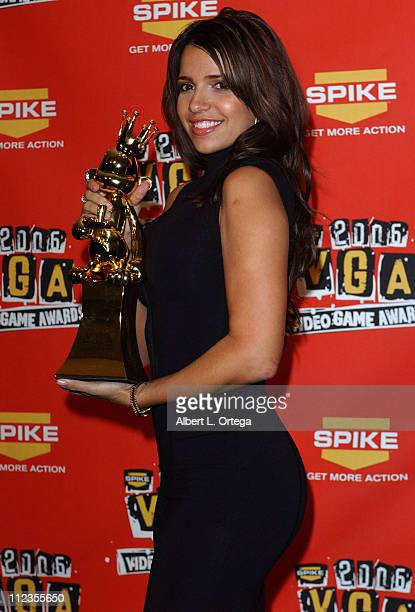 Vida Guerra winner for Best Performance By A Human Female 'Scarface The World Is Yours'