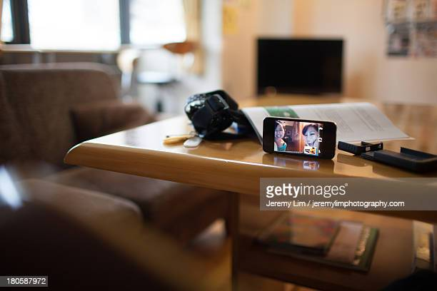 Video Call by Phone from a Hostel