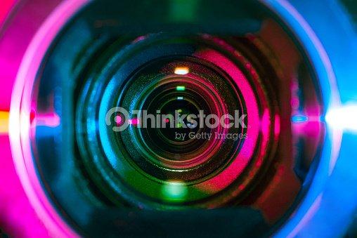 Lentille de la caméra vidéo : Photo
