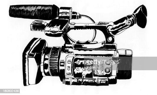 Video camera : Stock Photo