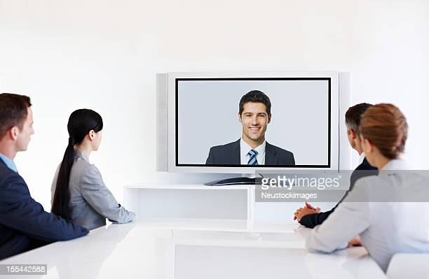 Video Conference During Meeting