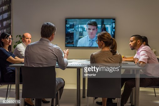 Video conference meeting