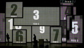 Video displays that will be used during the Republican National Convention are tested at the Tampa Bay Times Forum on August 23 2012 in Tampa Florida...