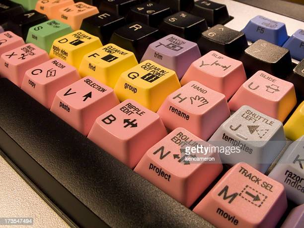 Montage vidéo clavier