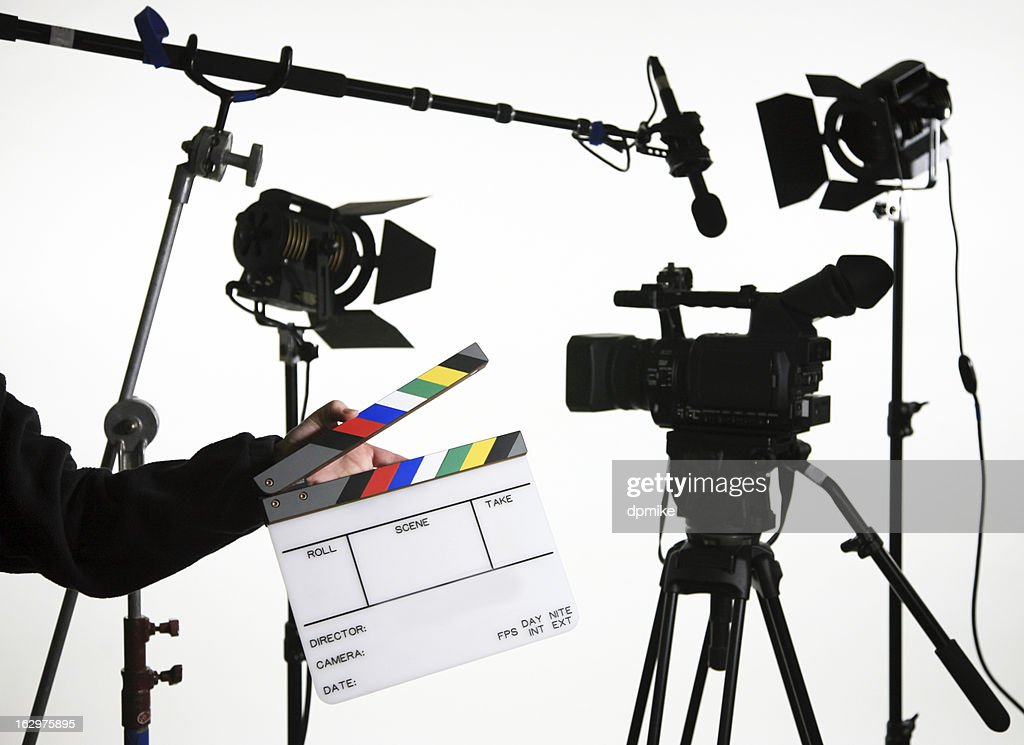 Video equipment with open slate