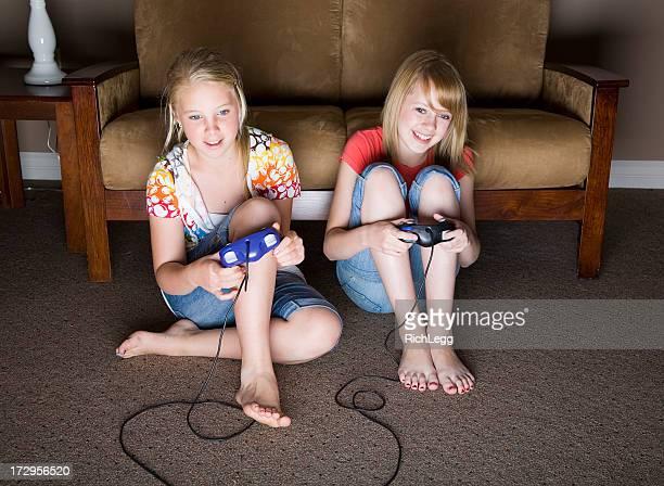 Video Game Playing Girls