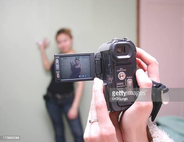 Menina de vídeo