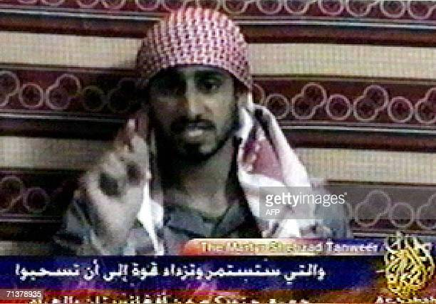 A video grab taken 06 July 2006 from the Qatarbased news channel AlJazeera shows Shehzad Tanweer one of the suicide bombers who attacked London's...