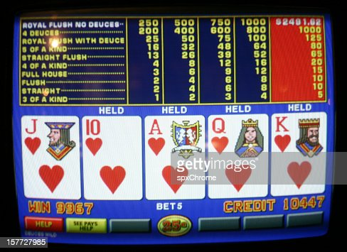 Video Poker - Royal Flush