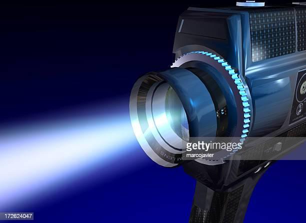 Videocamera shooting