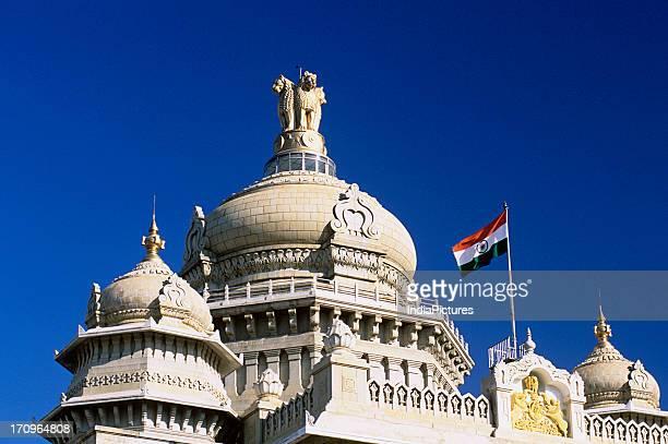 Vidhan Soudha houses Karnataka's State Legislative Assembly Bengaluru India