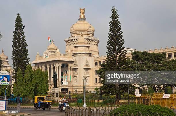 Vidhana Soudha, which houses the Secretariat and State Legislature.