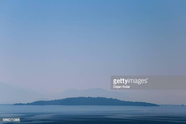 Vido island, Corfu, Greece - The Blue Tomb