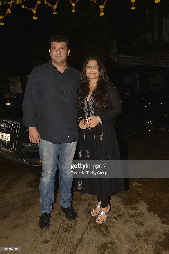 Vidya Balan and <a gi-track='captionPersonalityLinkClicked' href=/galleries/search?phrase=Siddharth+Roy+Kapur&family=editorial&specificpeople=6236847 ng-click='$event.stopPropagation()'>Siddharth Roy Kapur</a> at the special screening of the movie Finding Fanny in Mumbai.