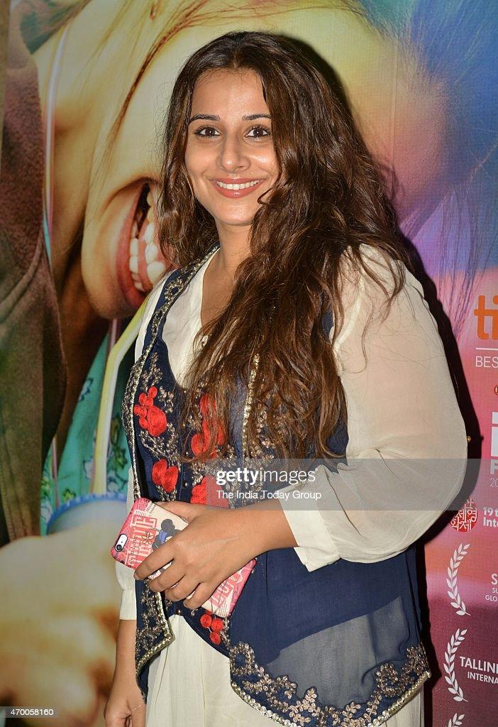 Vidya Balan at the special screening of the movie Margarita with a Straw in Mumbai