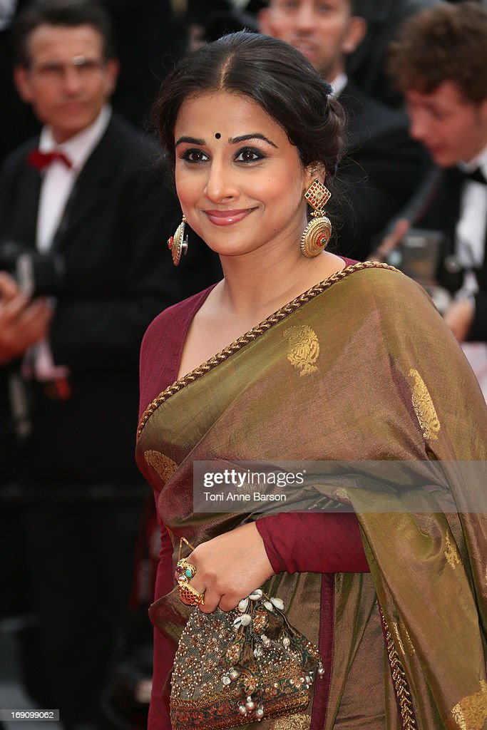 <a gi-track='captionPersonalityLinkClicked' href=/galleries/search?phrase=Vidya+Balan&family=editorial&specificpeople=563348 ng-click='$event.stopPropagation()'>Vidya Balan</a> attends the Premiere of 'Inside Llewyn Davis' at The 66th Annual Cannes Film Festival on May 19, 2013 in Cannes, France.