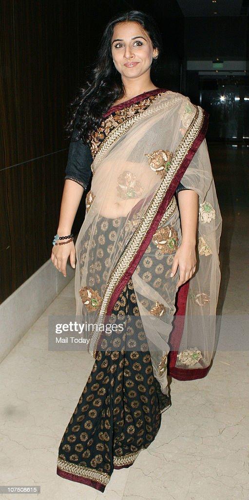 Vidya Balan during the music release of Dharmendra's home production film Yamla Pagla Deewana in Mumbai on Thursday night
