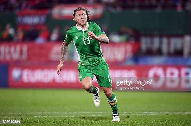 Vienna Austria 12 November 2016 Jeff Hendrick of Republic of Ireland during the FIFA World Cup Group D Qualifier match between Austria and Republic...