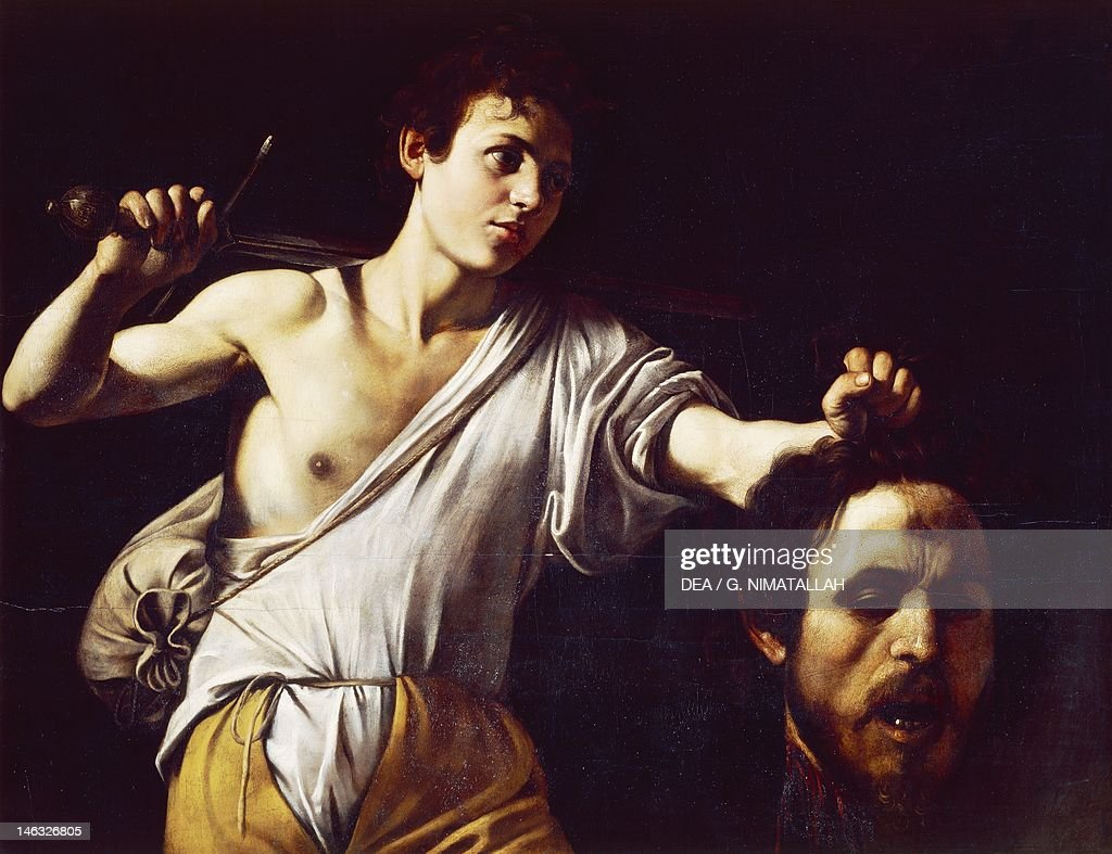 Vienna Kunsthistorisches Museum David with the Head of Goliath Michelangelo Merisi known as Caravaggio Oil on canvas 905 cmx1165
