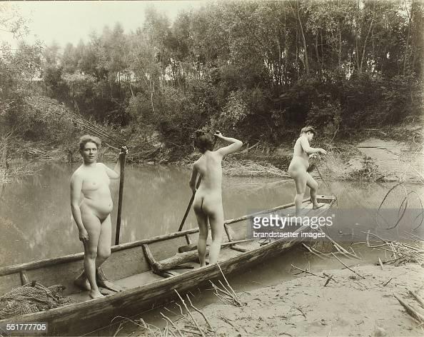 naked girls women boat