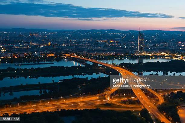 Vienna night view