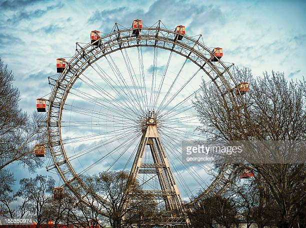 Vienna Riesenrad (Giant Ferris Wheel) at Prater