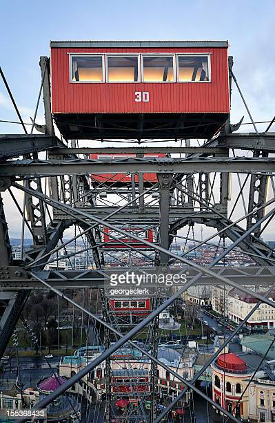 Wien Ferris Wheel point of view (Riesenrad) am Prater