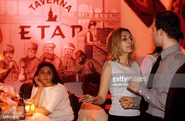Taverna Etap guests dancing