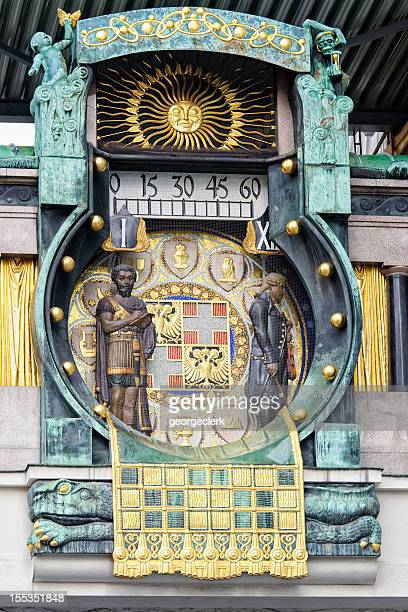 Vienna's Anchor Clock (Ankeruhr)